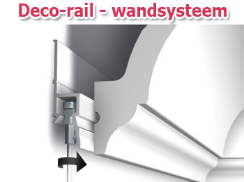 Deco-rail - wandsysteem